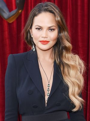 The £6 Boots Product That Gave Chrissy Teigen Her Red Carpet Waves