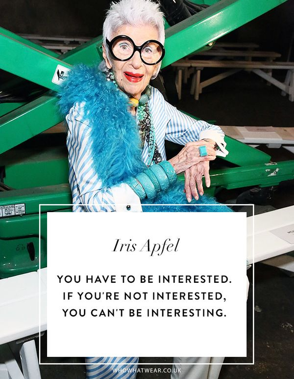 Iris Apfel Quotes