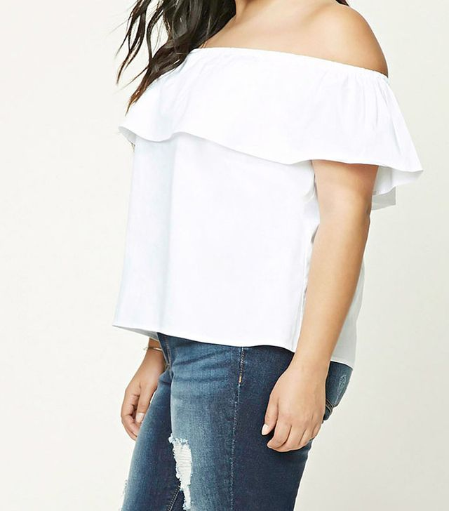 Forever 21 Plus-Size Off-the-Shoulder Top