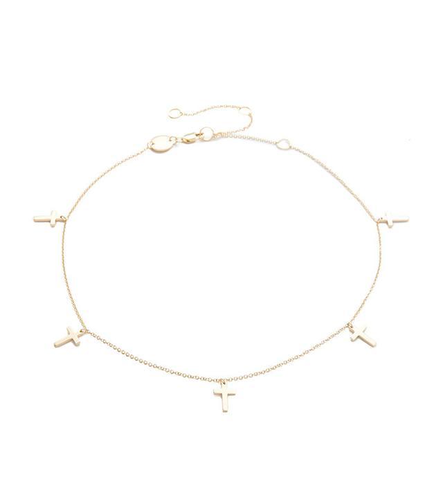 Jennifer Zeuner Jewelry Theresa Choker Necklace