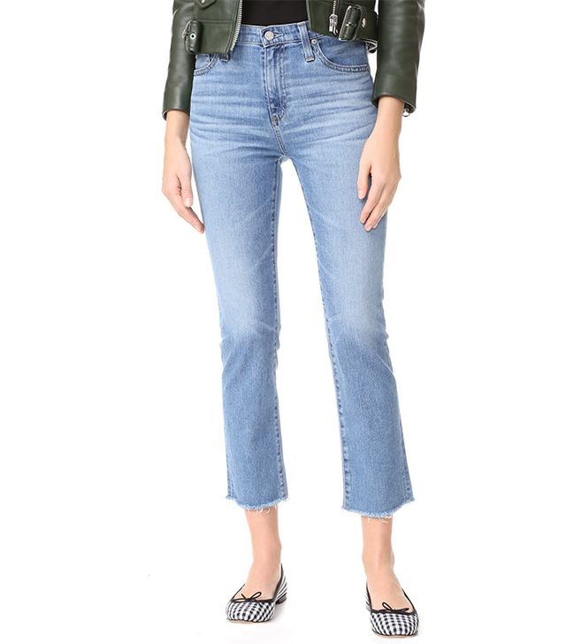 AG The Isabelle High-Rise Straight Jeans