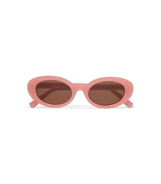 Elizabeth and James McKinley Oval-Frame Acetate Sunglasses