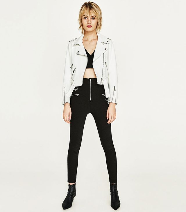 Zara Leather Effect Jacket