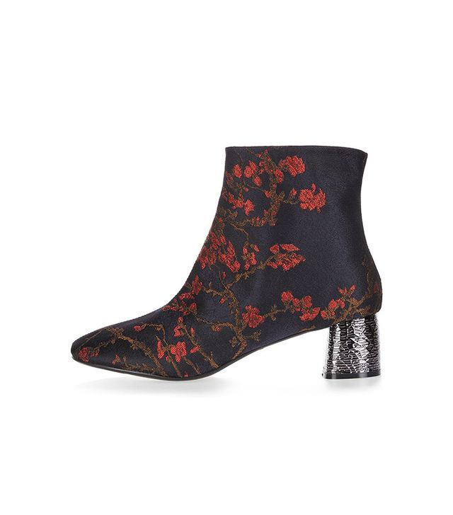 Topshop Bumble Feature Ankle Boots