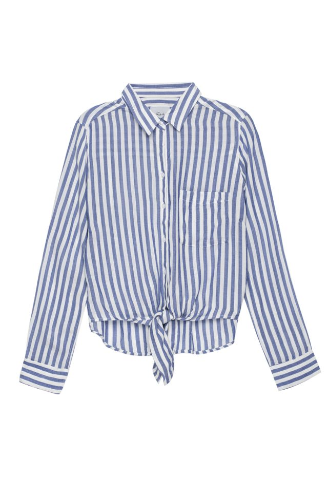 Rails Val Blue White Stripe