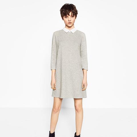 Poplin Collar Dress