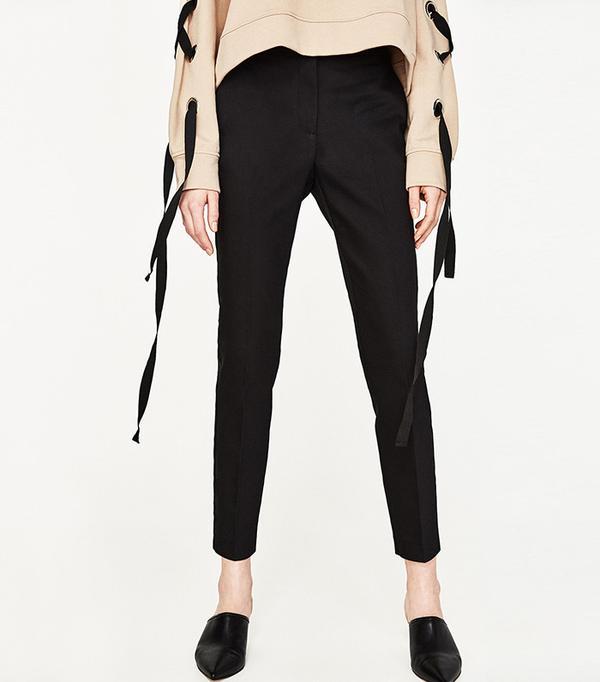 Zara Stretch-Waist Skinny Trousers