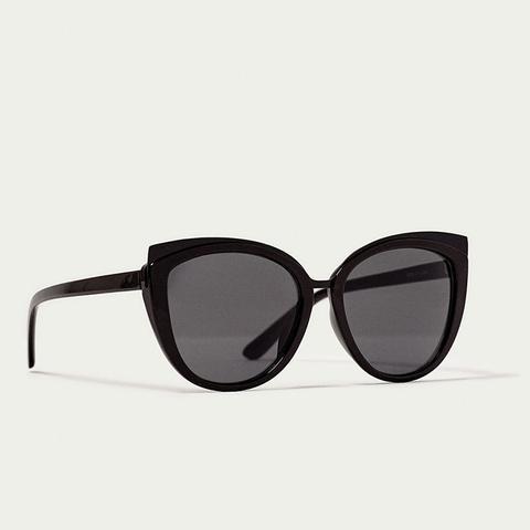 Resin Cat's-Eye Sunglasses