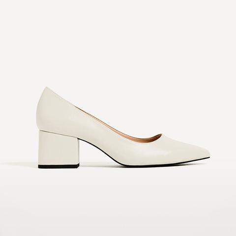 Wide Medium-Heel Shoes