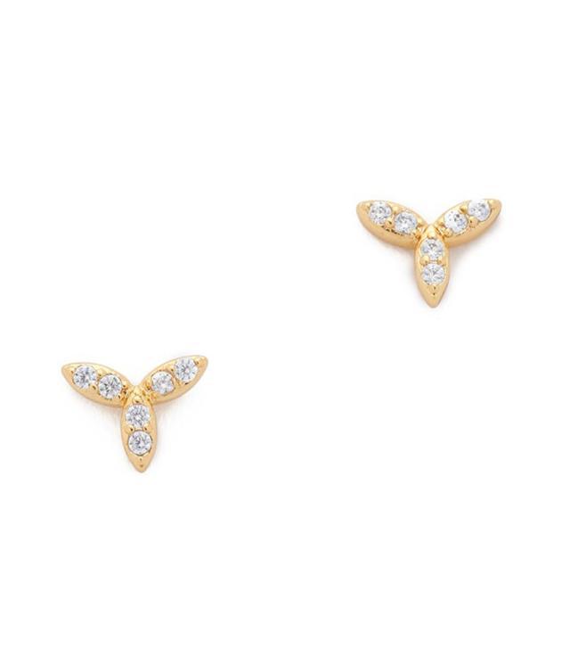 Gorjana Olympia Shimmer Mini Stud Earrings