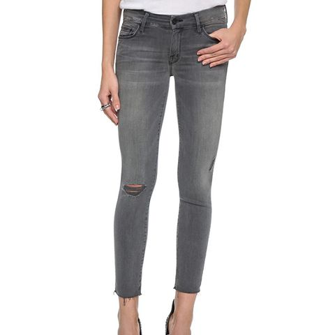 Looker Skinny Ankle Fray Jeans