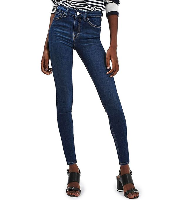 Topshop Jami High Rise Ankle Skinny Jeans