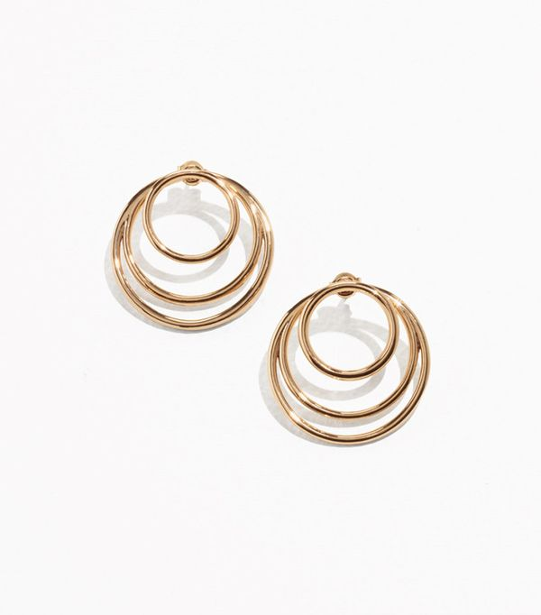 & Other Stories Loop Hoop Studs