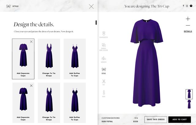 This new australian app lets you design your own for Design your wedding dress app