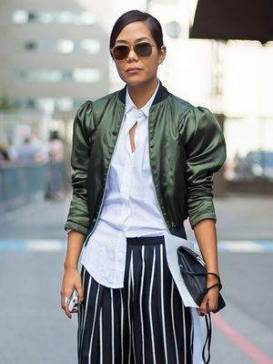 This One-Second Styling Trick Will Elevate Your Work Outfit