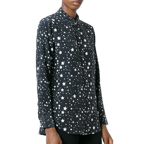 Stars-Print Shirt