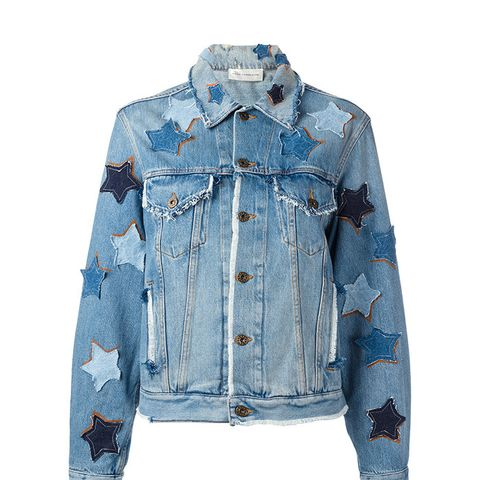 Star Patches Denim Jacket