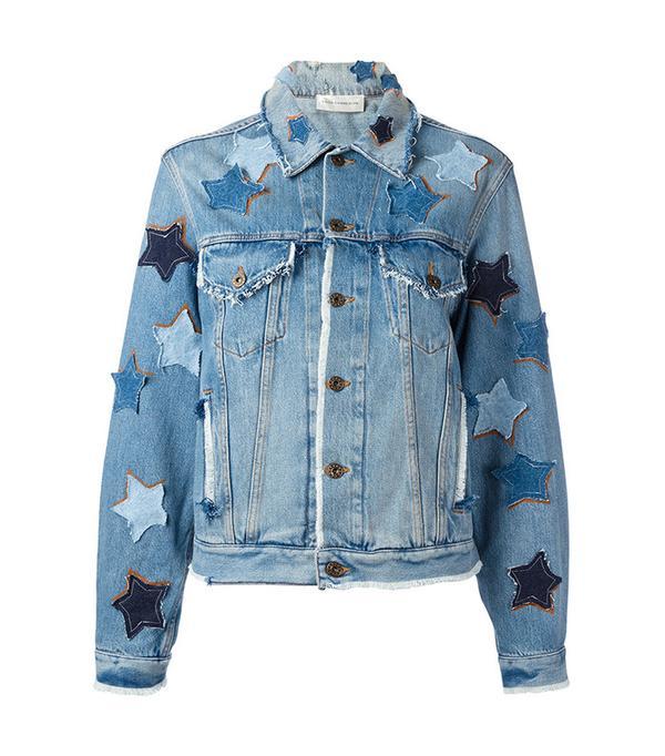 Faith Connexion Star Patches Denim Jacket