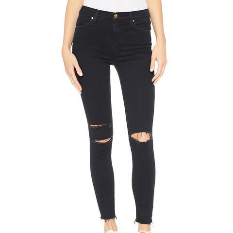 High-Rise Alana Crop Jeans
