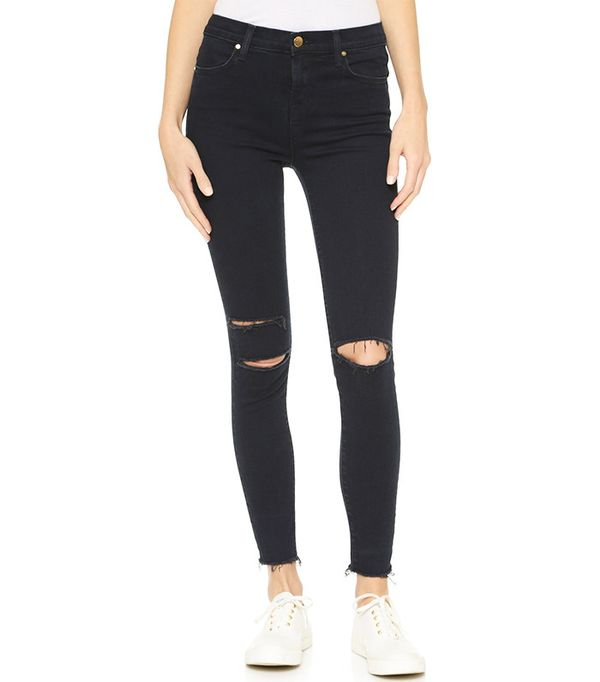J Brand High-Rise Alana Crop Jeans