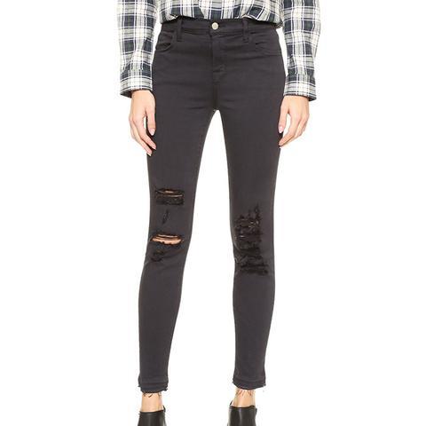 Alana High-Rise Crop Jeans