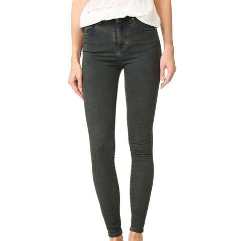 Elle Mid-Rise Crop Jeans