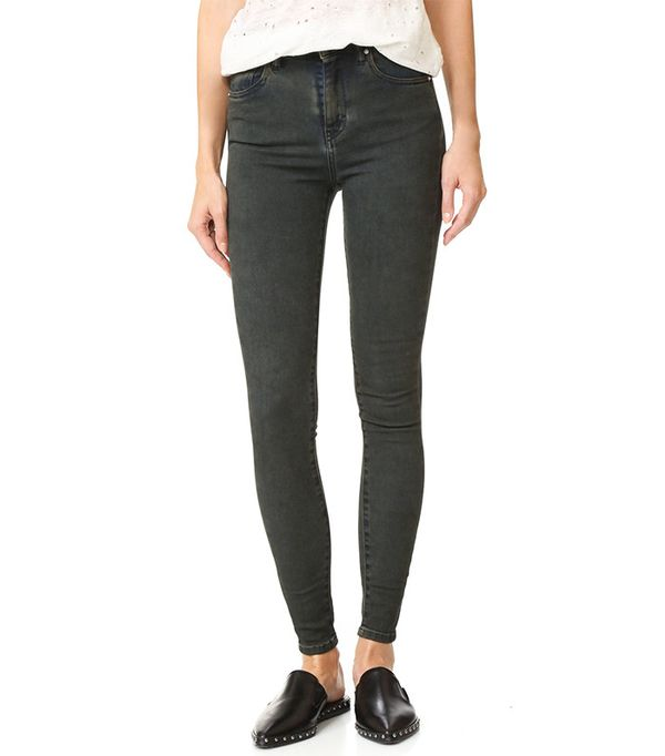 IRO .Jeans Elle Mid-Rise Crop Jeans
