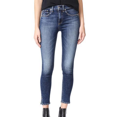 Stud Cadiz Skinny Jeans