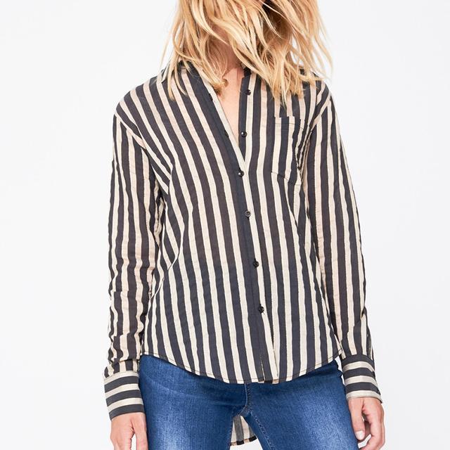Annie Bing Striped Shirt