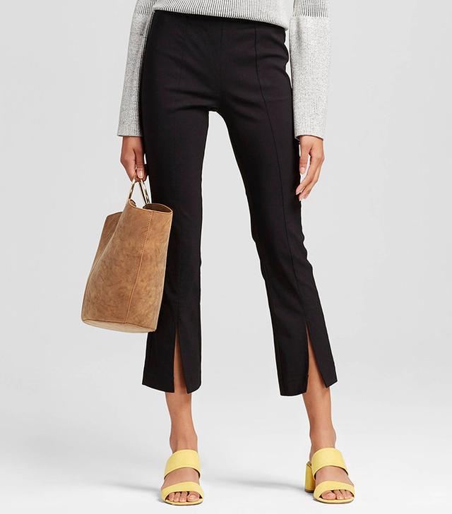 Who What Wear Women's Split Front Crop