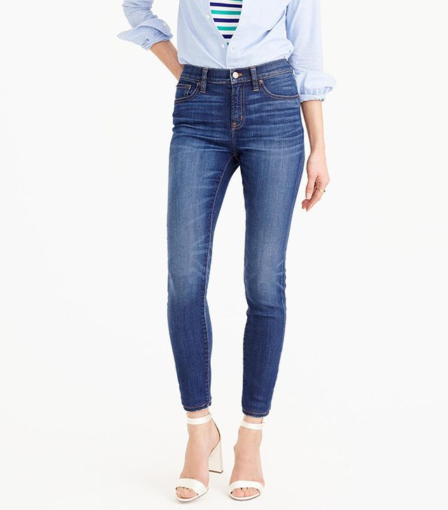 J.Crew Lookout High-Rise Jeans in Meyer Wash