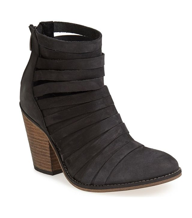 Free People 'Hybrid' Strappy Leather Booties