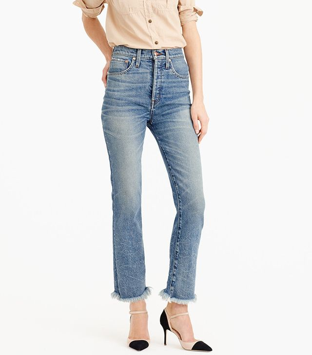 J.Crew Point Sur Relaxed Cropped Bootcut Jeans