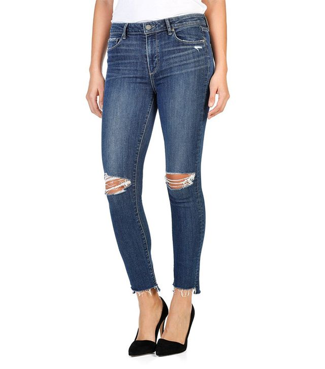 Paige Hoxton High-Rise Ankle Peg Skinny Jeans