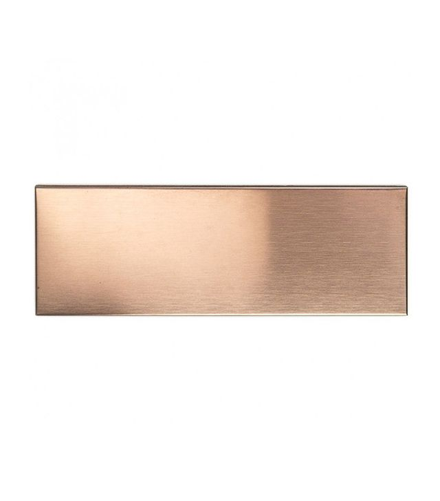 Tile Bar Copper Stainless Steel 2x6 Metal Subway Tile