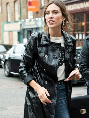 Even Alexa Chung Can't Resist 2017's Big Trend