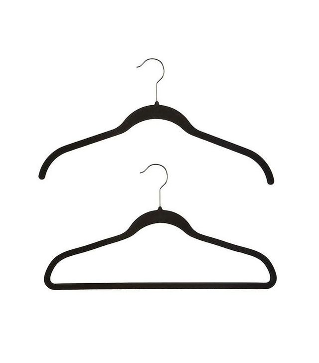 Joy Mangano 40 Black Huggable Hangers