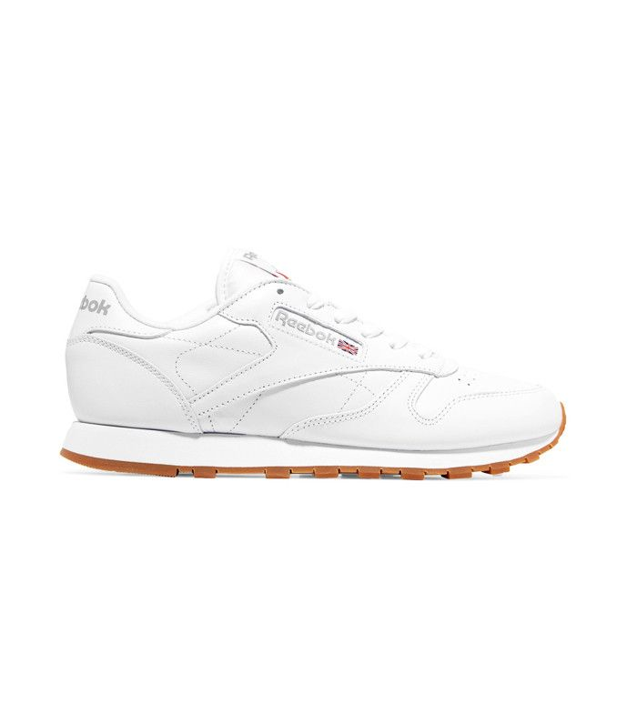 Jess Gavigan Juice Gee Small Feet Big Kicks: Reebok Classic Leather Sneakers