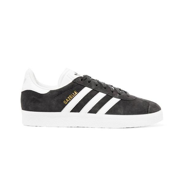 Jess Gavigan Juice Gee Small Feet Big Kicks: Adidas Originals Gazelle Suede and Leather Sneakers