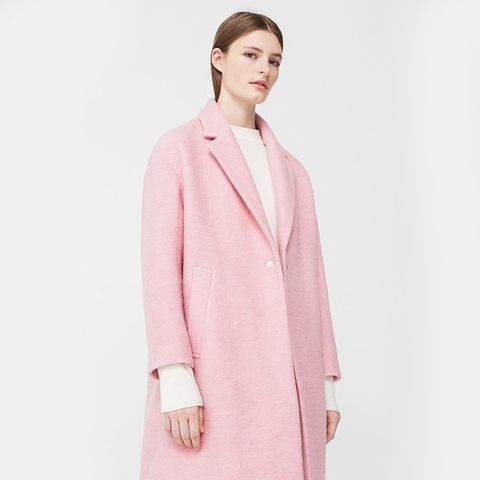 Unstructured Wool Coat