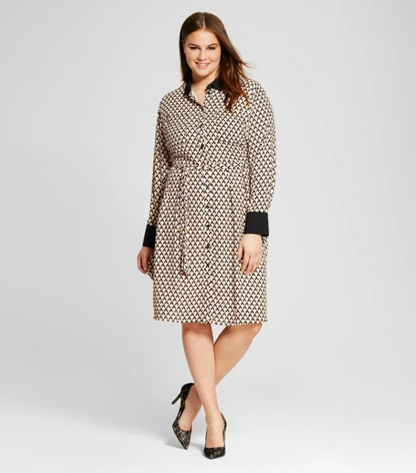 Who What Wear Button-Up Shirtdress