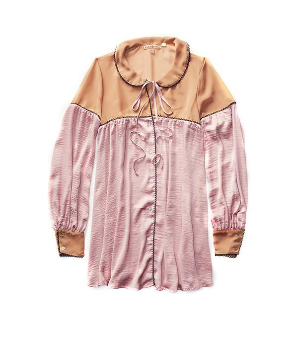 Skivvies by For Love & Lemons Soliana Sleep Shirt