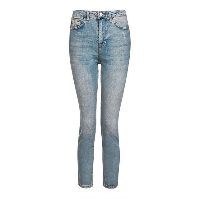 Topshop MOTO Vintage Straight Leg Jeans