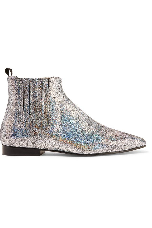 Joseph Glittered Chelsea Boots