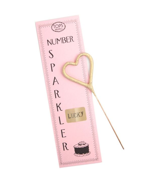 Catbird Mini Gold Heart Sparkler