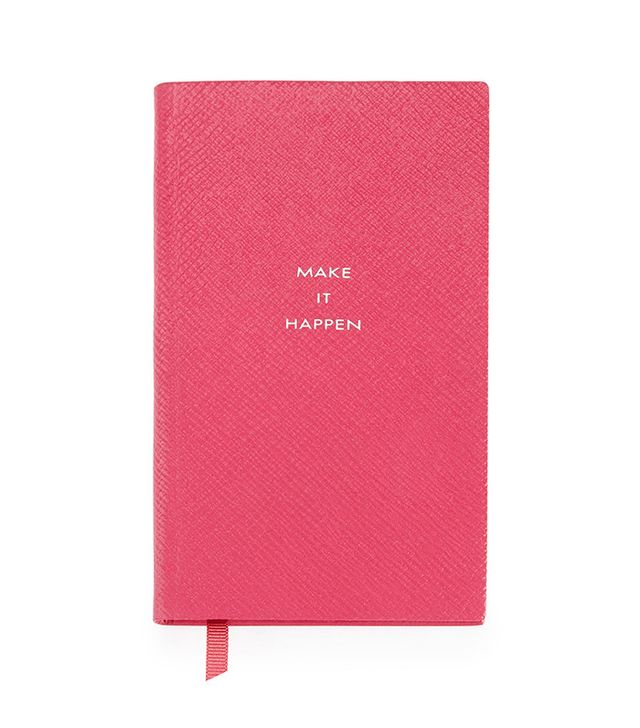 "Smythson ""Make it Happen"" Panama Notebook"