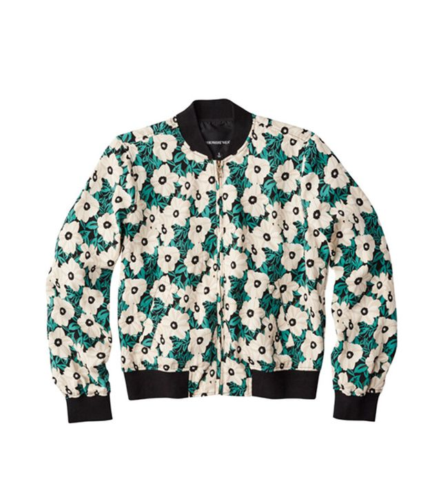 Who What Wear Plus-Size Bomber Jacket