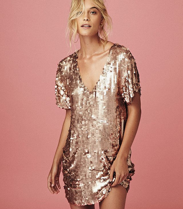 Free People Surry Sequin Dress