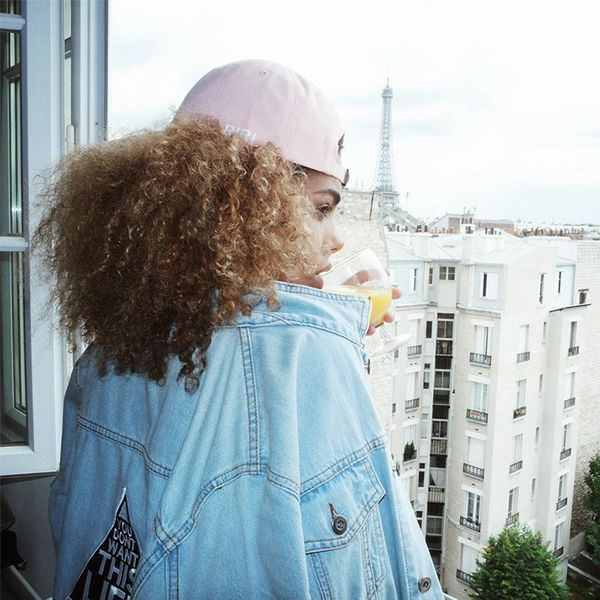 In a Riri hat and faded denim jacket, Kunakey cements her place as the front-runner for the new generation of French-girl style. Head to the comments to vote for your favorite look and check out...