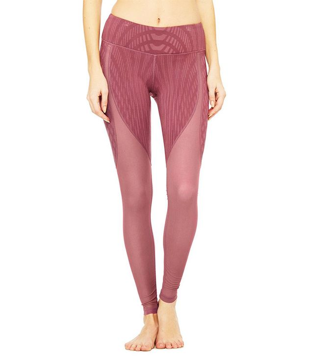 Alo Motion Leggings in Grenache